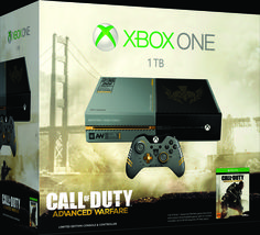 It's a standard Xbox One console, controller and headset designed for consumers who want their favorite sports title more than other games. Description from gamerant.com. I searched for this on bing.com/images