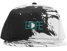 Stroke Metal Plate Snapback Cap by DOPE