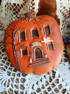 Hiley's pumpkin house | Cookie Connection