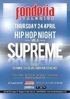 Hip hop giovedì 24.4.14