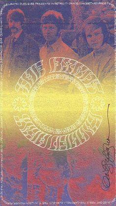 Byrds / Canned Heat - Grande Ballroom 1968