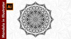 How to design a Mandala in Adobe Illustrator