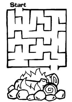 Maze Worksheets for Kids. 20 Maze Worksheets for Kids. Free Printable Mazes and Other Printable Activities for Maze Puzzles, Puzzles For Kids, Games For Kids, Kids Mazes, Mazes For Kids Printable, Worksheets For Kids, Free Printables, Kindergarten Worksheets, Camping Coloring Pages