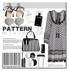 """Pattern Mixing"" by mslewis6 ❤ liked on Polyvore featuring Dodo Bar Or, J.Crew, Sagaform, Chanel, NARS Cosmetics and philosophy"