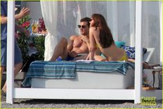 Shirtless Jamie Dornan & Bikini-Clad Dakota Johnson Film 'Fifty Shades' Honeymoon Scene!