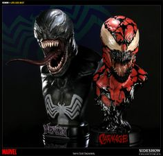 Venom Life-Size Bust - Sideshow Collectibles - SideshowCollectibles.com