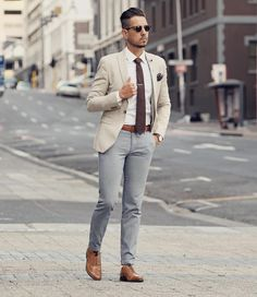 The last of the Cape Town summer is upon us. Enjoying this linen blazer while I can! Sunglasses by Blazer by Tie by Trousers by Shoes by 📸: (at Cape Town, Western Cape) Blazer Outfits Men, Mens Fashion Blazer, Stylish Mens Outfits, Suit Fashion, Fashion Boots, Smart Casual Wear, Casual Wear For Men, Business Casual Outfits, Mens Suits