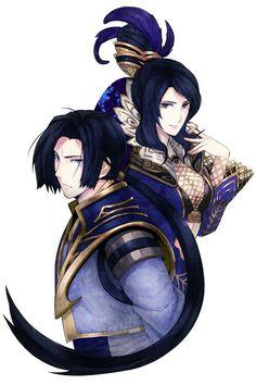 Zhen Ji and Cao Pi - Dynasty Warriors