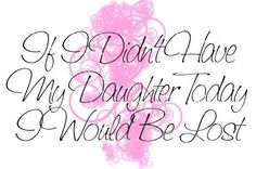 Daughter.. My daughter Tracie, is my world!!