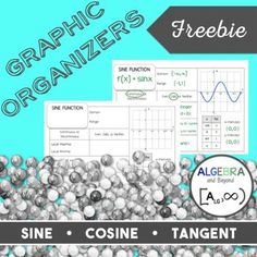 Trigonometry Parent Functions - Graphic Organizers Three graphic organizers for the trigonometric functions: Teaching Secondary, Teaching Math, Secondary Resources, Secondary Math, Teaching Ideas, Trigonometric Functions, Precalculus, Math Teacher, Math Classroom