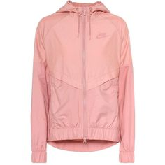 3fad8627393e Nike NSW Hooded Jacket ( 91) ❤ liked on Polyvore featuring outerwear