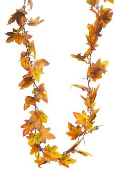 Brauns-Heitmann 6434 LED Fairy Lights with Maple Leaves Battery-Operated