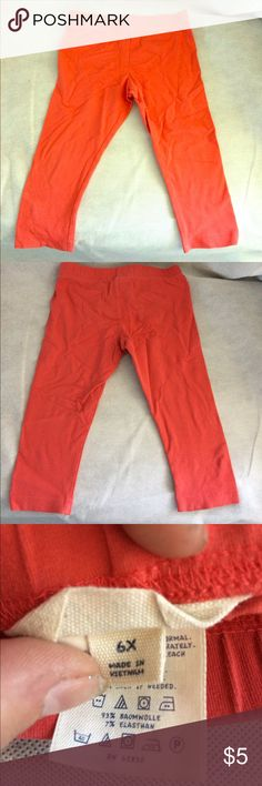 Salmon kids pants There's a pair of salmon kids spandex pants Lands' End Bottoms Casual