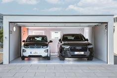 Homeplaza: Großraumgaragen - Komfortable Lösung für Auto, Hobby & Co (Foto: epr/ZAPF GmbH) Garage, Autos, Carport Garage, Garages, Car Garage, Carriage House