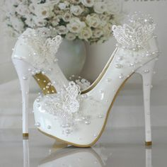 2017'nin en yeni gelin ayakkabısı modelleri