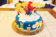 La Power-Up Cake è stata disegnata dal piccolo Marco e riprodotta fedelmente da Super  Pasquale Bros.  Find out more >> https://bcreativepartyplanners.com/2016/10/07/super-mario-party/