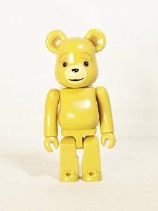 Medicom Toy Be@rbrick BEARBRICK 100% Series 30 ANIMAL American comedy film Ted 2 TED Normal Version Pale Yellow