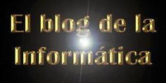 Post de El Blog de la Informática 10 en el que se explica cómo crear un texto dorado con Photoshop.
