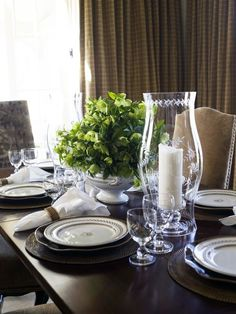 Table setting by Phoebe Howard