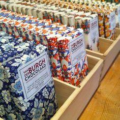 Van der Burgh Chocolaad. Heerlijke chocola bij Het Appeltaartgevoel in Den Haag.