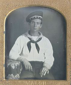 1850s US sailor - perfect!