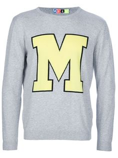 MSGM College Style Sweater