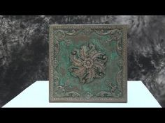 Resin Casting Tutorial: Cold Cast Bronze With Patina - YouTube