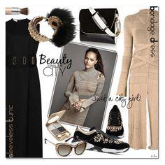 """BONDAGE DRESS, Proenza Shouler"" by deneve ❤ liked on Polyvore featuring Beaufille, Proenza Schouler, NewbarK, L'Oréal Paris, Chantecaille, René Caovilla and Dolce&Gabbana"