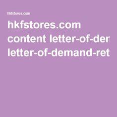 hkfstores.com content letter-of-demand-retraction-hancock-fabrics-daily-journal.pdf