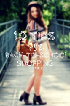 10 tips for back to school shopping