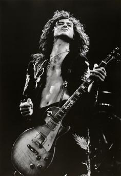 We all have our own guitar gods. Jimmy Page is at the top of my pantheon. Rock and roll.