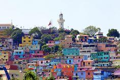 Las peñas. Guayaquil, Ecuador. Chevere