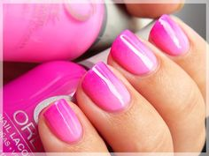 The gradient in manicure. The basic techniques - Reviews of cosmetics - The Body