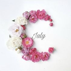 Seasons Months, Months In A Year, Summer Months, Summer Time, July Flowers, Month Flowers, Hello July, Flower Wreaths, Bouquet