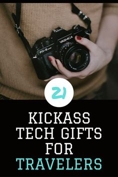 A technology gift guide for people who love to travel!...