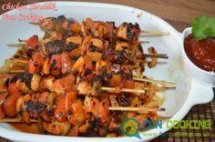 Chicken Shashlik with sauce
