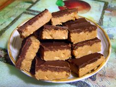 No-Bake Chocolate Peanut Butter Squares trying this tonight :)