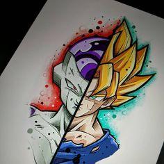 Dragon ball super e o anime mais legal do mundo Disney Drawings, Cute Drawings, Dbz Drawings, Z Tattoo, Ball Drawing, Goku Drawing, Anime Tattoos, Dragon Ball Gt, Disney Art