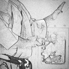 #zeichnung #drawing #disegno #karate #karatedo #shotokan #dojo #dan #meistergrad #budoka #schwarzgurt #kuroobi #blackbelt #shutouke #kampfkunst #martialarts #karetefamily #karatemaster #karateislife #karateman #karate4live #karateteam