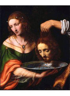 Bernardino Luini • Salome with the Head of Saint John the Baptist, 1515-25