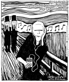 The Scream sold for nearly $ 120m... Check out all our Scream themed cartoons!