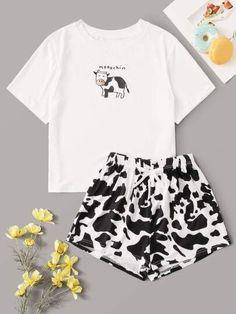 Cute Pajama Sets, Cute Pajamas, Girls Pajamas, Cute Pjs, Pj Sets, Teen Pjs, Summer Pajamas, Cute Sleepwear, Loungewear Set
