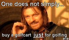 Golfcart meme