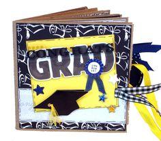 Paper Bag Album Scrapbooks- So cute!  Graduation gift idea, too!