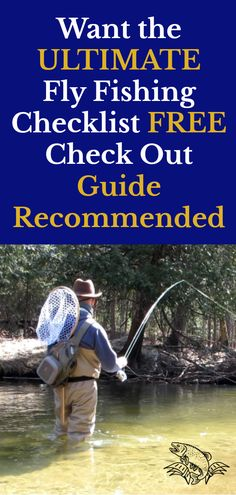 New to fly fishing? Before you head out into the water, check out our beginner fly fishing checklist to learn more about the must-have equipment for your first adventure. Carp Fishing Tips, Fly Fishing Basics, Fly Fishing For Beginners, Gone Fishing, Best Fishing, Trout Fishing, Fishing Reels, Fishing Lures, Fishing Tricks