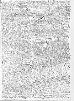 """""""Cuadro Escrito"""" by Leon Ferrari  Art Experience NYC: www.artexperiencenyc.com"""
