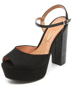 d89e894c0b sandálias salto alto - salto grosso - black and red - high heels ...