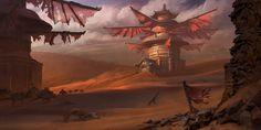 Haul - Windmills, Lloyd Allan on ArtStation at https://www.artstation.com/artwork/haul-windmills