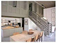 ~ Living a Beautiful Life ~ Bobby McAlpine house @ Rosemary Beach Beach Interior, Stairs, Kitchen Inspiration Design, Interior, House, Kitchen, Home Decor, House Interior, Rosemary Beach