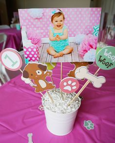 Hey, I found this really awesome Etsy listing at https://www.etsy.com/listing/239365187/diy-puppy-party-centerpieces-instant